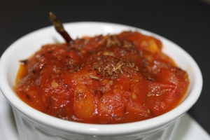 Sweet and Spicy Tomato chutney